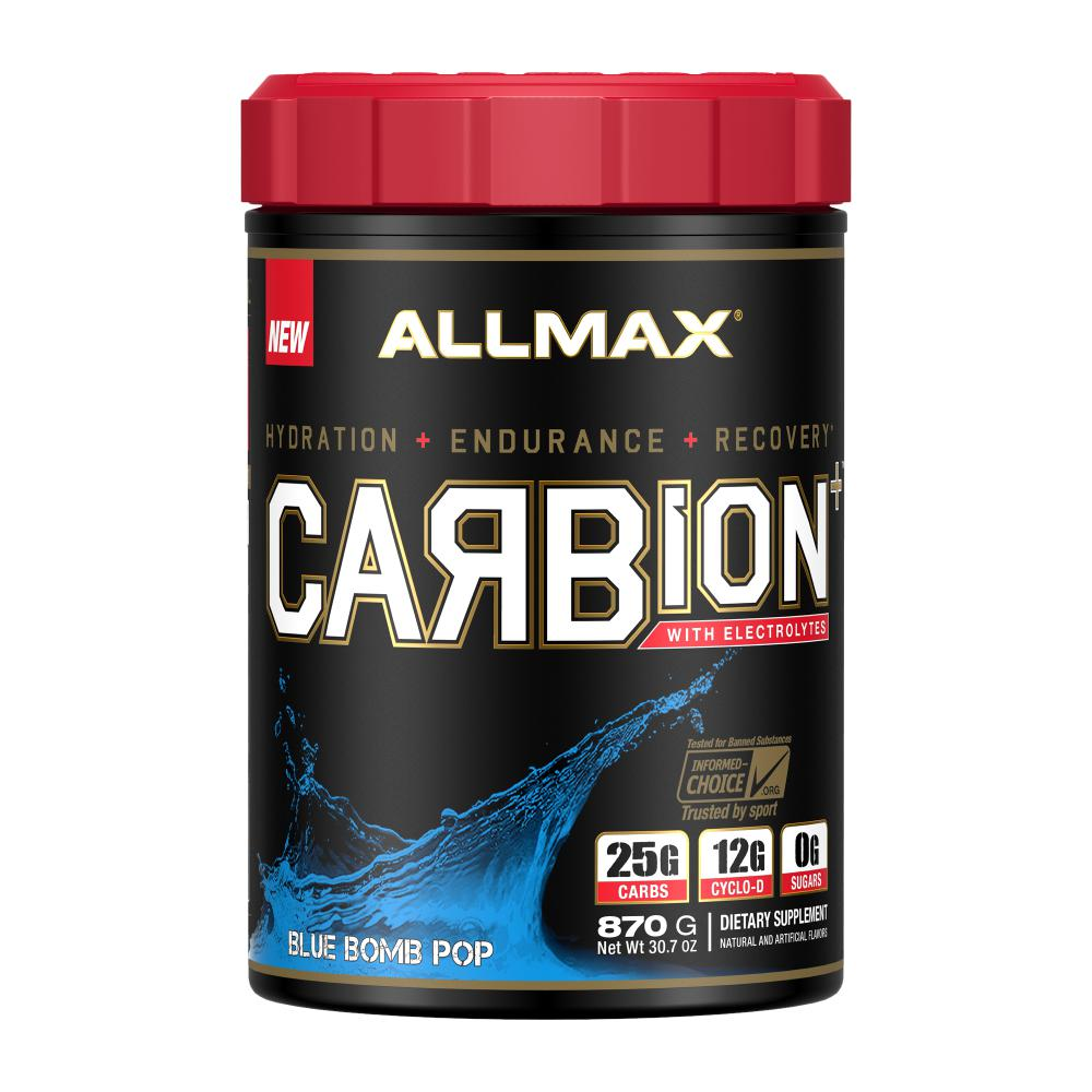 Allmax Nutrition Carbion 30 Servings Blue Bomb Pop