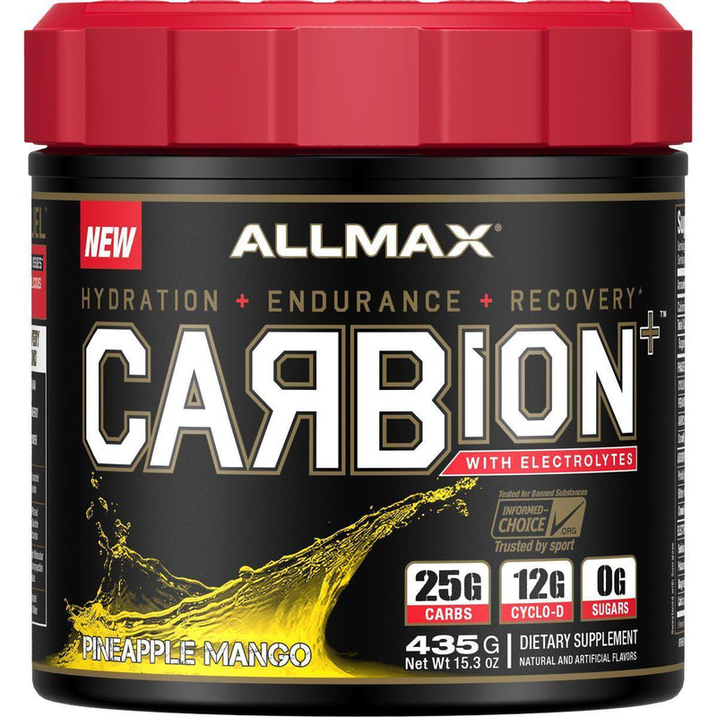 Allmax Nutrition Carbion+ Pineapple Mango 15 Servings