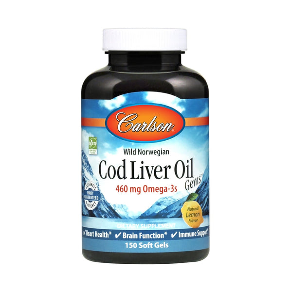 Carlson Labs Cod Liver Oil 460mg