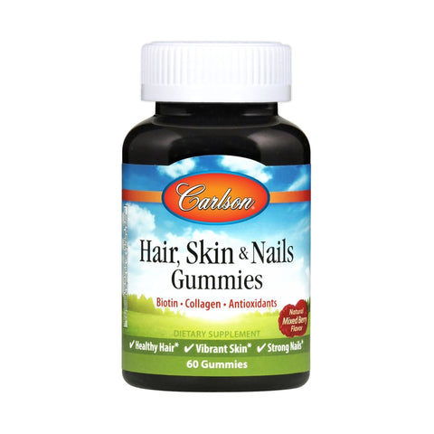 Carlson Labs Hair, Skin, & Nails Gummies