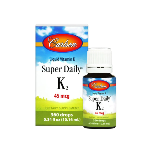 Carlson Labs Super Daily K2 360 Drops