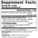 MegaFood Complex C Supplement Facts