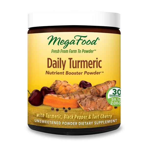 MegaFood Daily Turmeric Powder 30 Servings