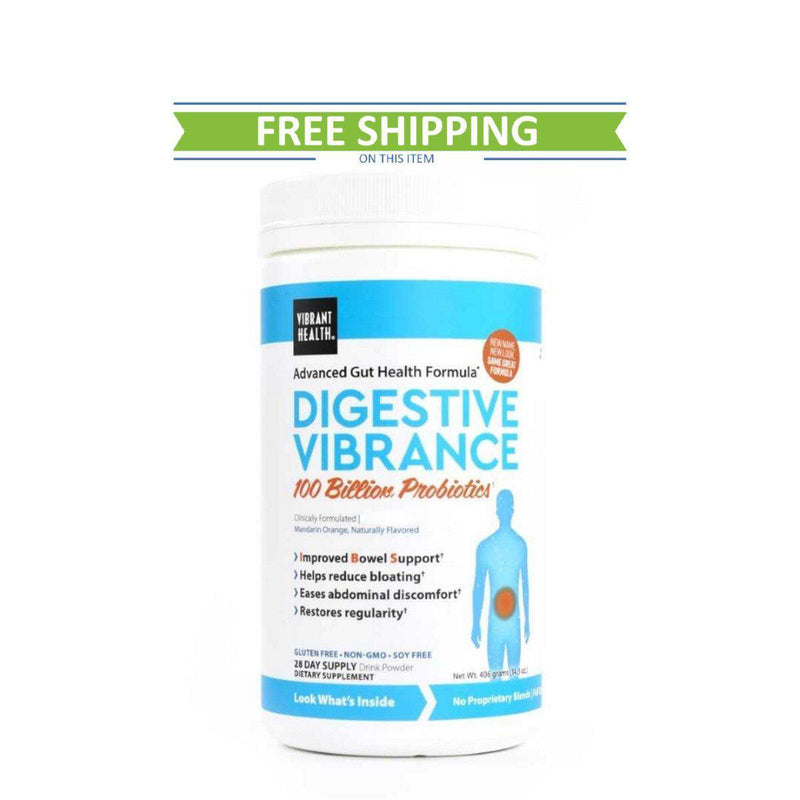Vibrant Health Digestive Vibrance 28 Servings free shipping