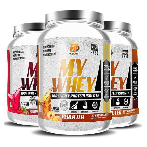Full Disclosure Nutrition MY Whey 30 Servings