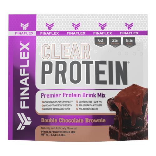 FinaFlex Clear Protein 5lb Double Chocolate Brownie
