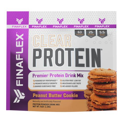 FinaFlex Clear Protein 5lb Peanut Butter Cookie