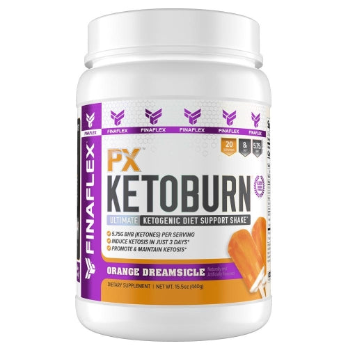 FinaFlex Px KetoBurn 20 Servings Orange Dreamsicle