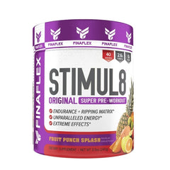 FinaFlex Stimul8 40 Servings Fruit Punch Splash