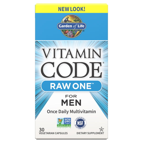 Garden of Life Vitamin Code Raw One For Men 30VC