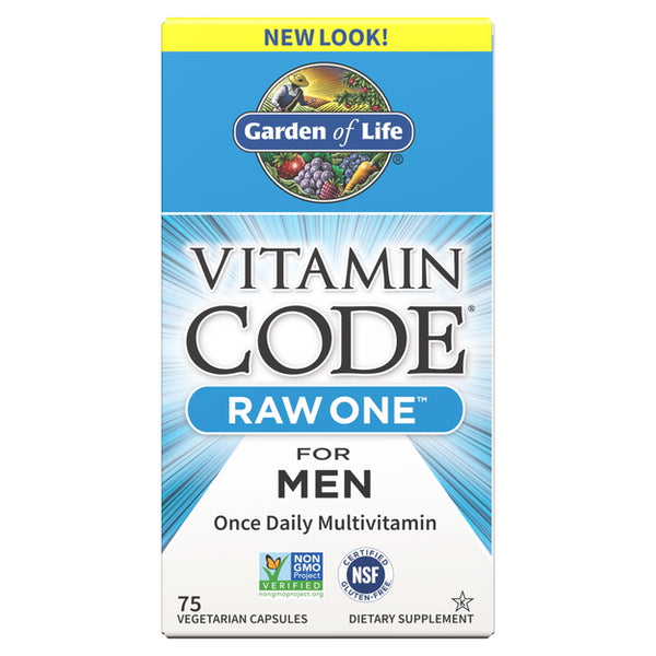 Garden of Life Vitamin Code Raw One For Men 75VC