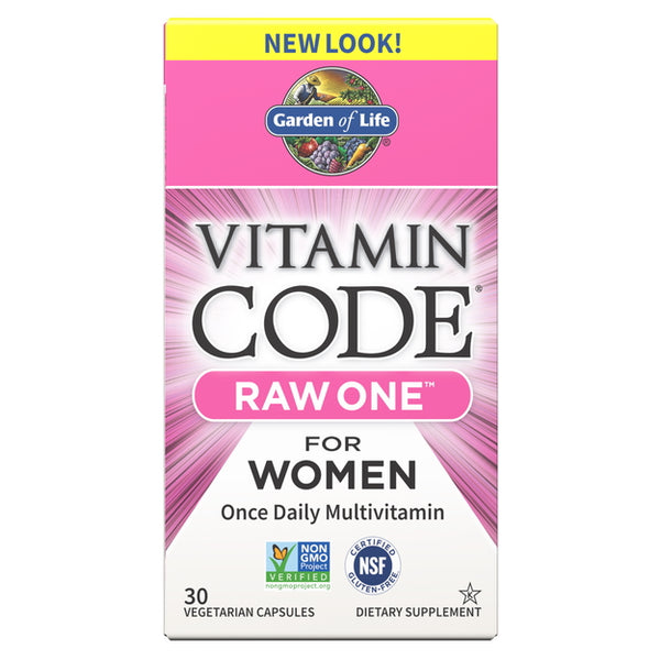 Garden of Life Vitamin Code Raw One For Women 30VC