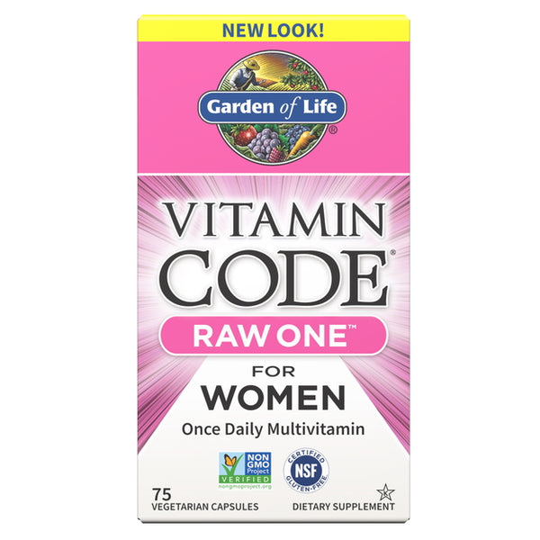 Garden of Life Vitamin Code Raw One for Women 75vc