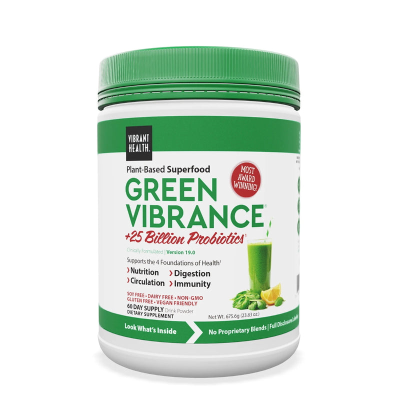 vibrant health green vibrance 60 servings