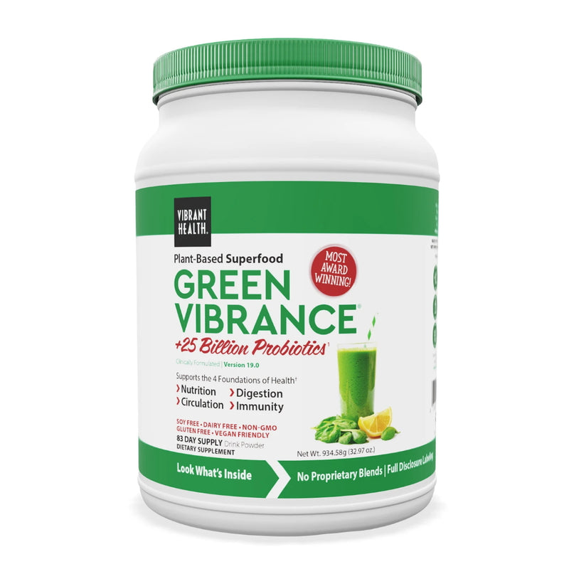Vibrant Health Green Vibrance 83 servings
