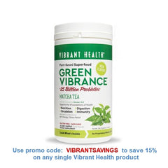 Vibrant Health Green Vibrance Matcha Tea Discount