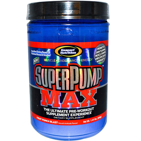 Gaspari Nutrition Super Pump MAX 40 Servings