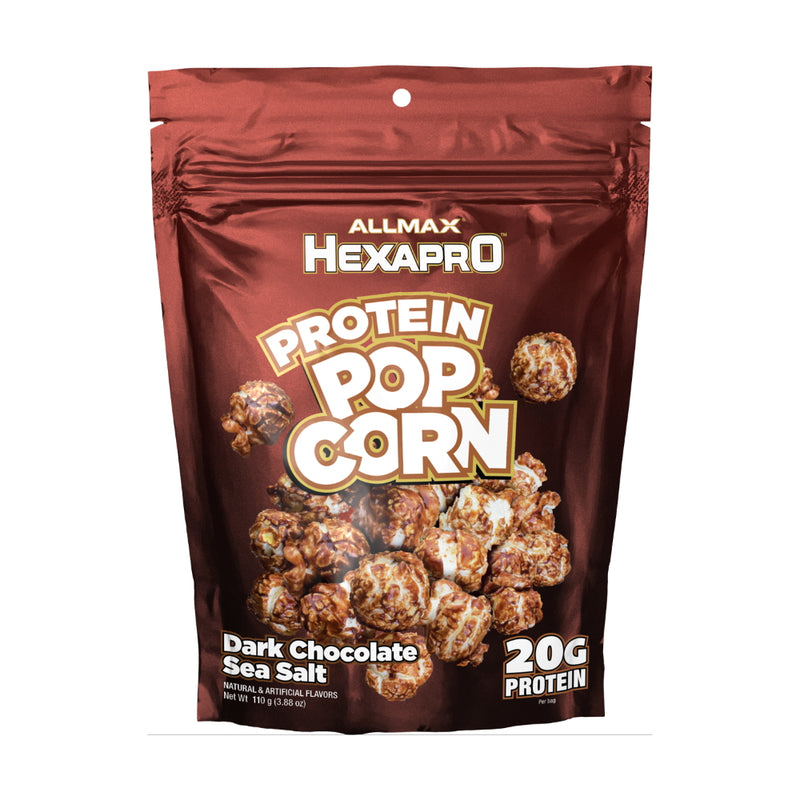 Allmax Nutrition HexaPro Protein Popcorn Dark Chocolate Sea Salt