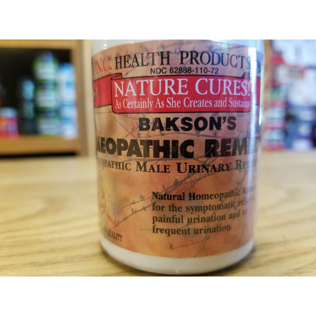 Bakson's Homeopathic Remedy P 120T