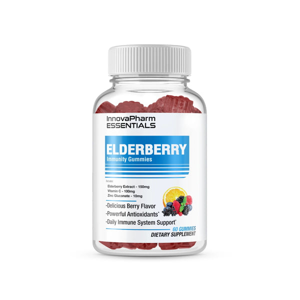 InnovaPharm Essentials Elderberry Immunity Gummies 60ct