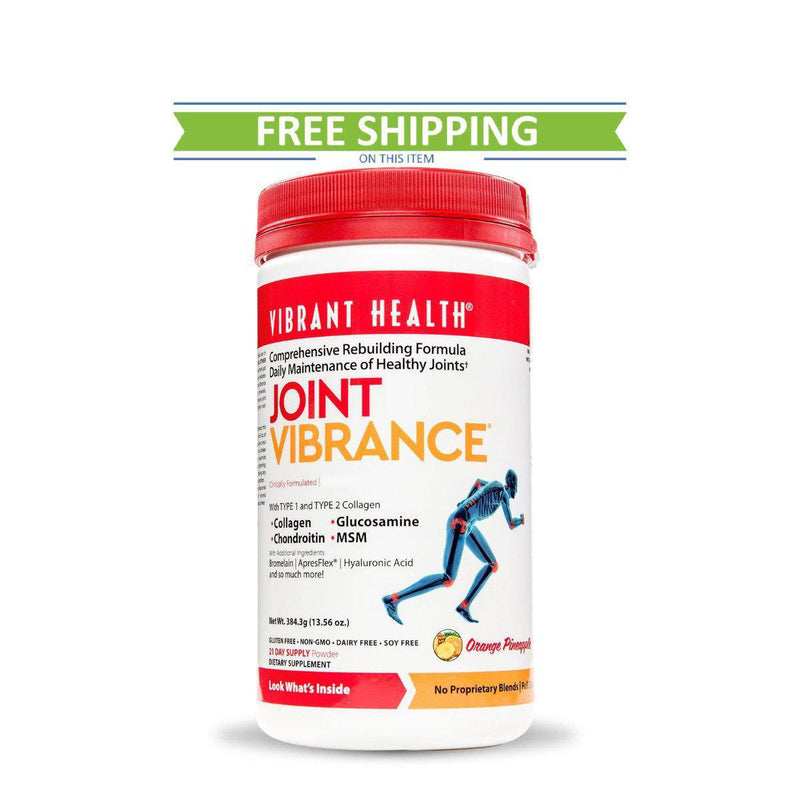 Vibrant Health Joint Vibrance 21 Servings free shipping