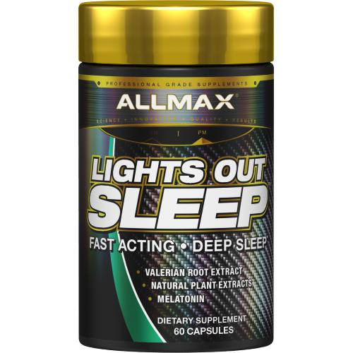 AllMax Nutrition Lights Out 60c