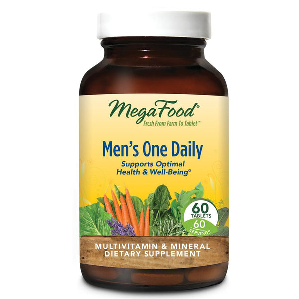 MegaFood Men's One Daily 60 Tablets