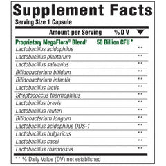 MegaFood MegaFlora Plus Supplement Facts