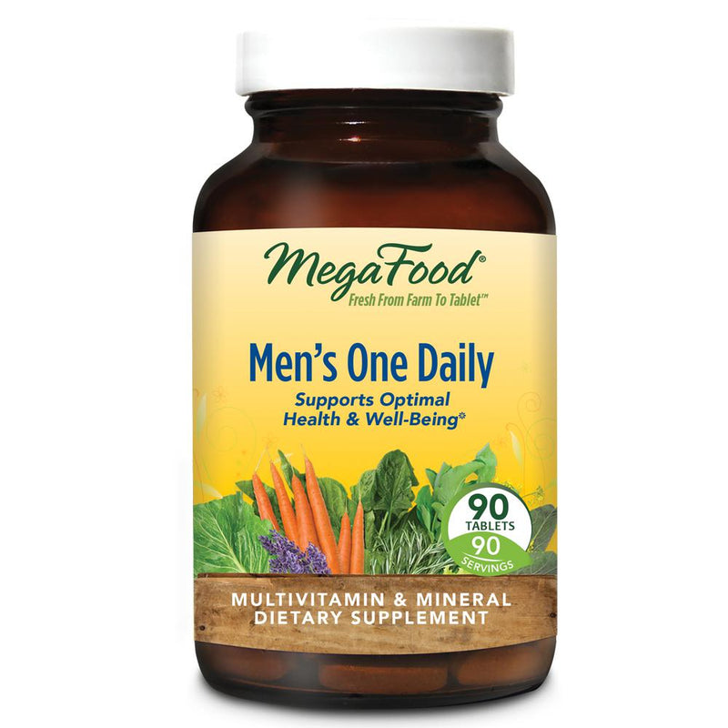 MegaFood Men's One Daily 90 Tablets