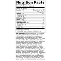 Metabolic Nutrition Musclean 5lb Chocolate Milkshake Nutrition Facts