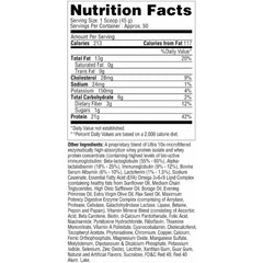 Metabolic Nutrition Musclean 5lb Strawberry Milkshake Nutrition Facts