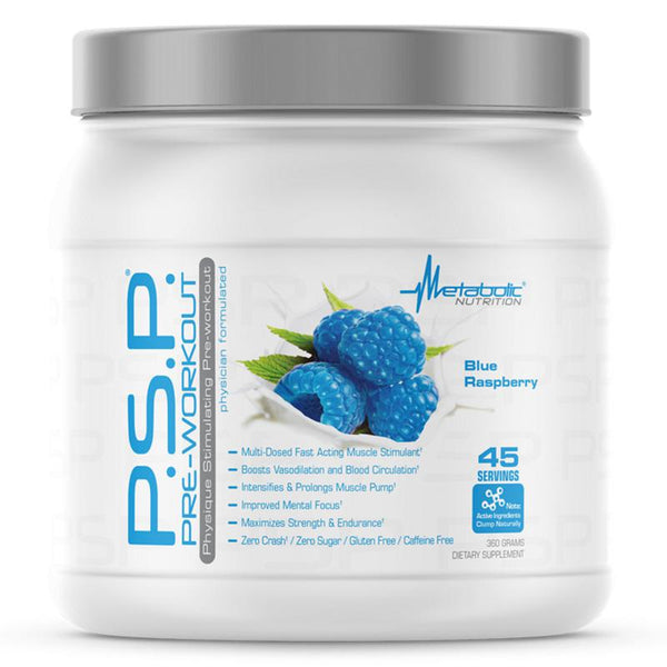 Metabolic Nutrition PSP 360 gram Blue Raspberry