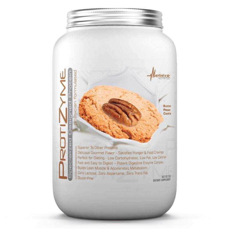 Metabolic Nutrition Protizyme 2lb Butter Pecan