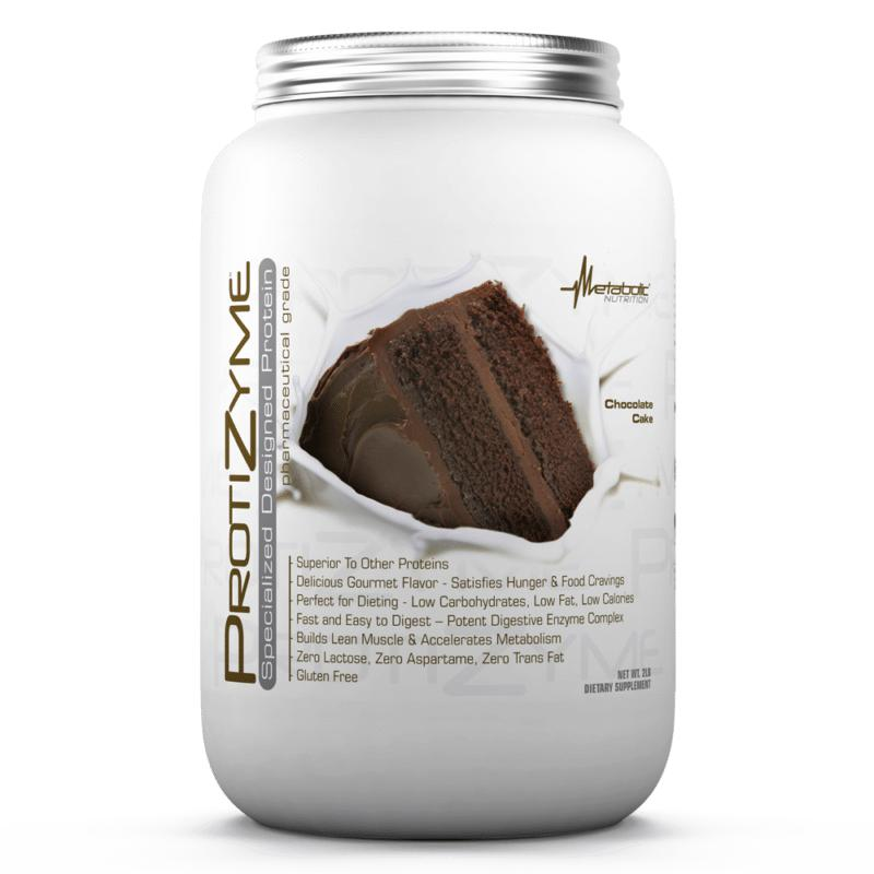 Metabolic Nutrition Protizyme 2lb Chocolate Cake