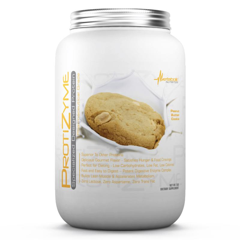 Metabolic Nutrition Protizyme 2lb Peanut Butter Cookie