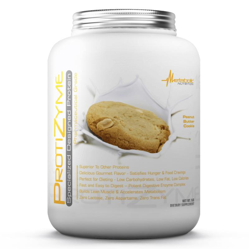 Metabolic Nutrition Protizyme 5lb Peanut Butter Cookie