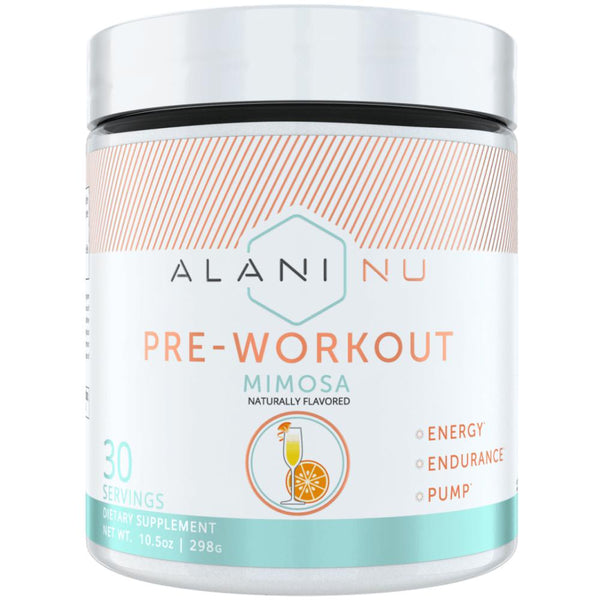 Alani Nutrition Pre Workout 30 Servings Mimosa