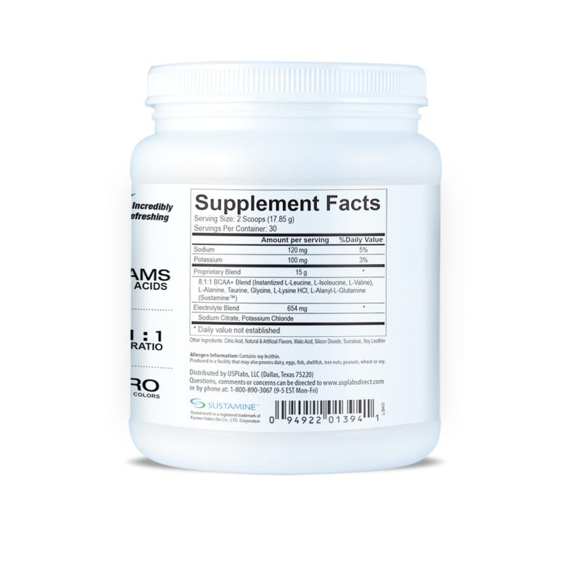 USP Labs Modern BCAA Supplement Facts