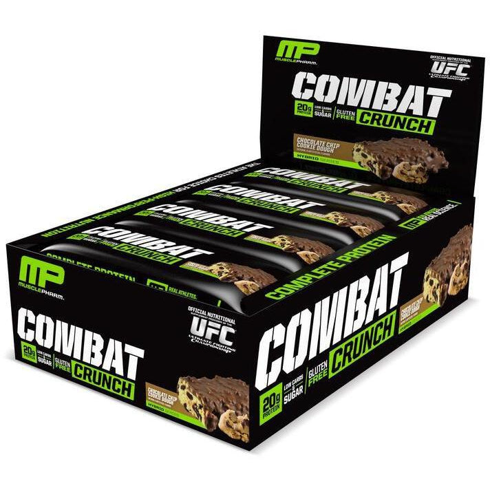 Muscle Pharm Combat Crunch Bars 12box