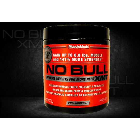 Muscle Meds No Bull XMT 20Serving
