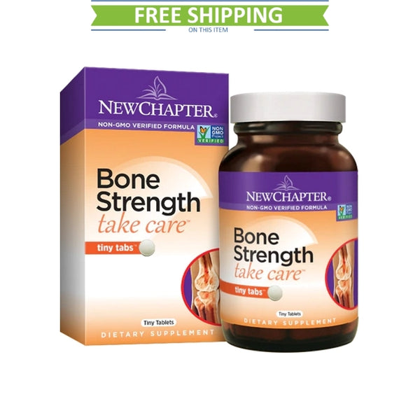 New Chapter Bone Strength Tiny Tabs 120T Free Shipping