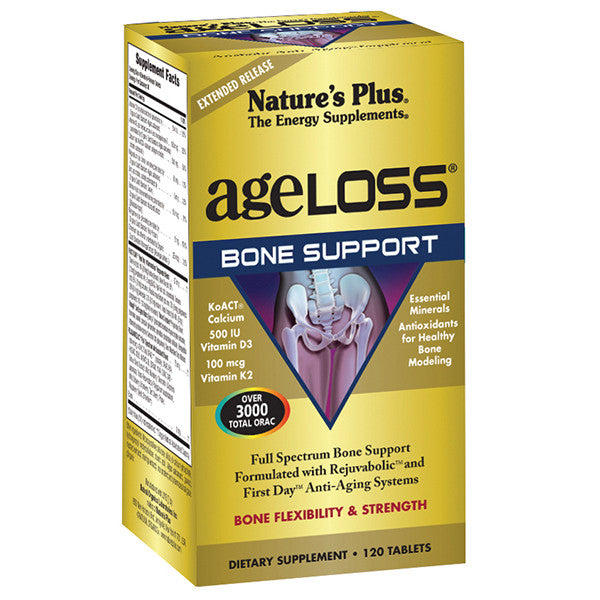 Nature's Plus AgeLoss Bone Support Extended Release 120T