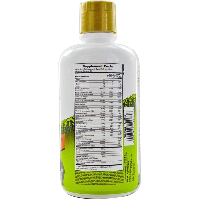 Nature's Plus Animal Parade Gold Children's Liquid Multivitamin 16oz