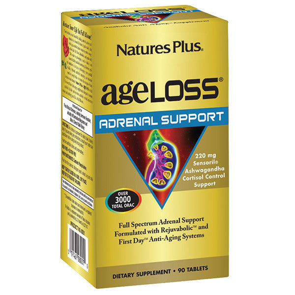 Nature's Plus AgeLoss Adrenal Support 90T