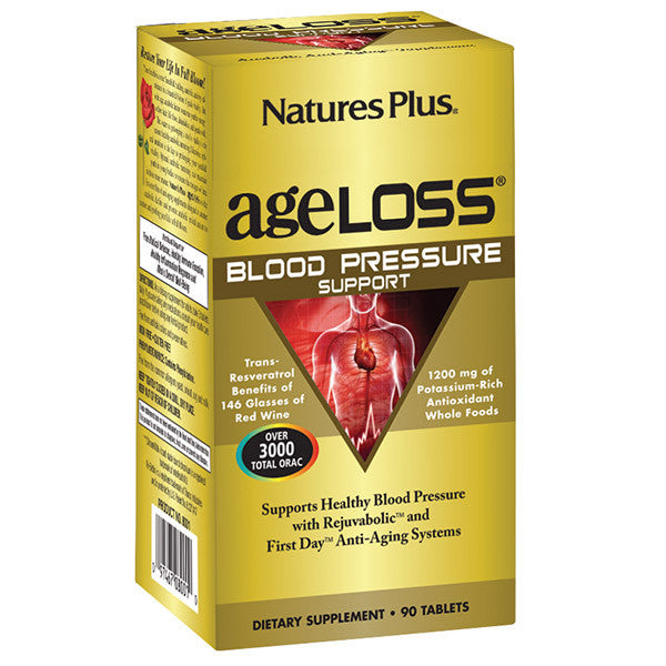 Nature's Plus AgeLoss Blood Pressure Support 90T