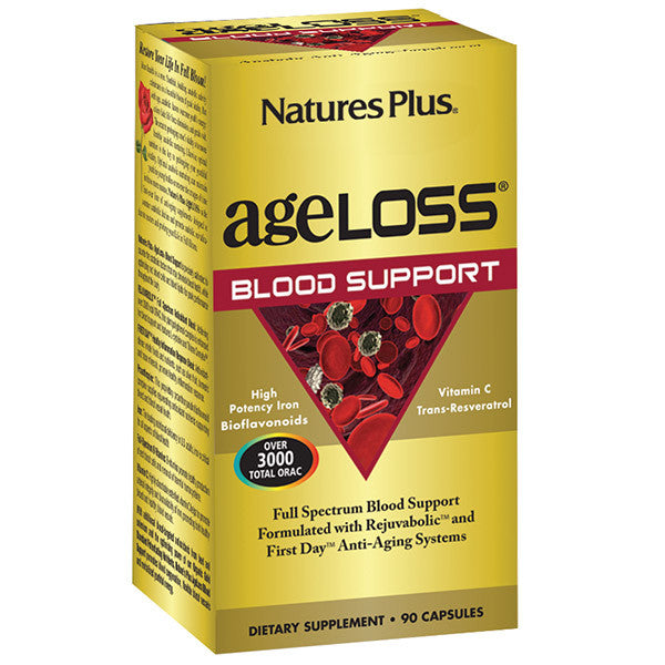 Nature's Plus AgeLoss Blood Support 90VC - Discontinued