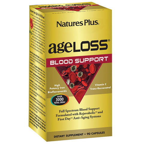 Nature's Plus AgeLoss Blood Support 90VC