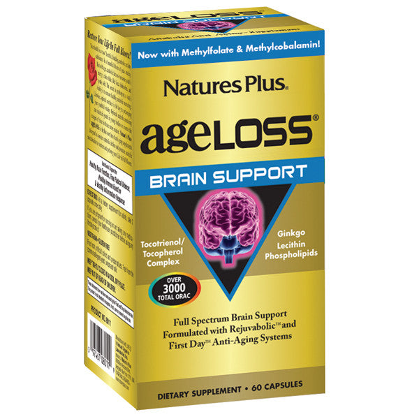 Nature's Plus AgeLoss Brain Support 60VC