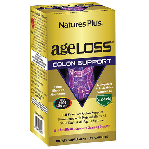 Nature's Plus AgeLoss Colon Support 90VC