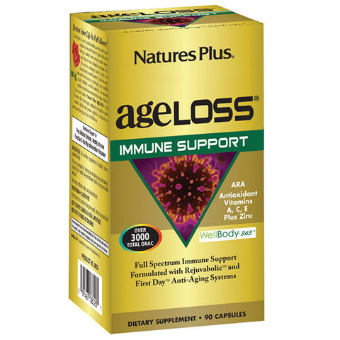 Nature's Plus AgeLoss Immune Support 90VC